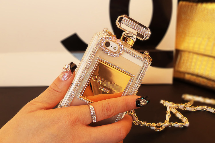 Case Design perfume bottle phone case : ... Perfume Transparent Bottle Shell/Skins -in Phone Bags u0026 Cases from