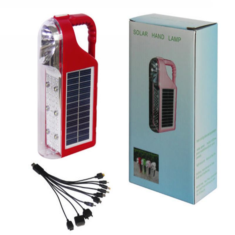 Cheap Outdoor Mini Portable Solar Energy Powered Camping Camp LED Light Lamp Tent Hand Power Bank Mobile Phone - Timeline Electronics Co.,Ltd store