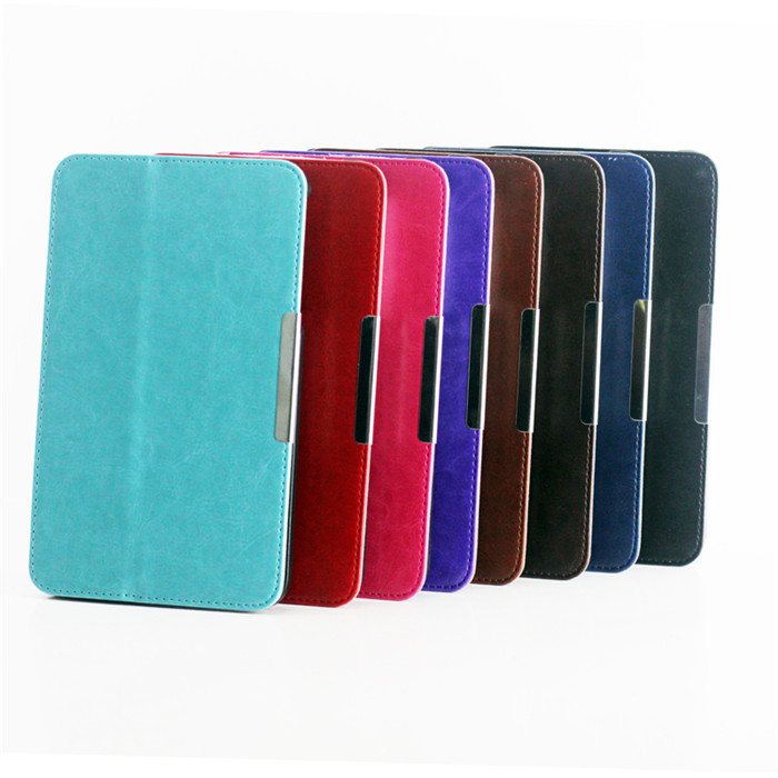 Original Design Leather Cover Case Asus Memo pad 7 ME176C ME176CX inch Tablet + Screen Protector Pen - Ereader&Tablet accessory store
