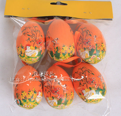 Easter egg colored drawing eggs decoration gift diy egg educational toys easter eggs