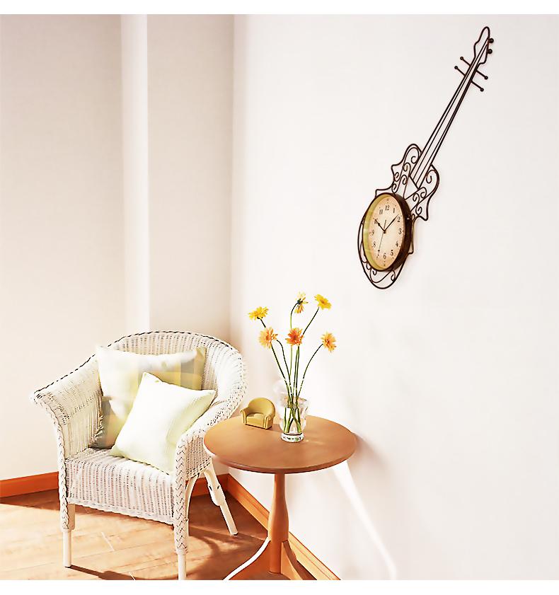 Здесь можно купить  Meiju rustic clocks wall clock modern personalized decoration clock american style quartz pocket watch  Дом и Сад