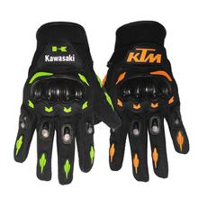 Hot Motorcycle Gloves KTM Kawasaki Men Cycling Racing Moto Glove Motorbike Full Finger Bike Protect Motocicleta Guantes Luvas(China (Mainland))