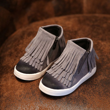 2015 Autum boy children shoes single leather shoes boys moccasin loafers shoes SIZE EURO 21 to 36
