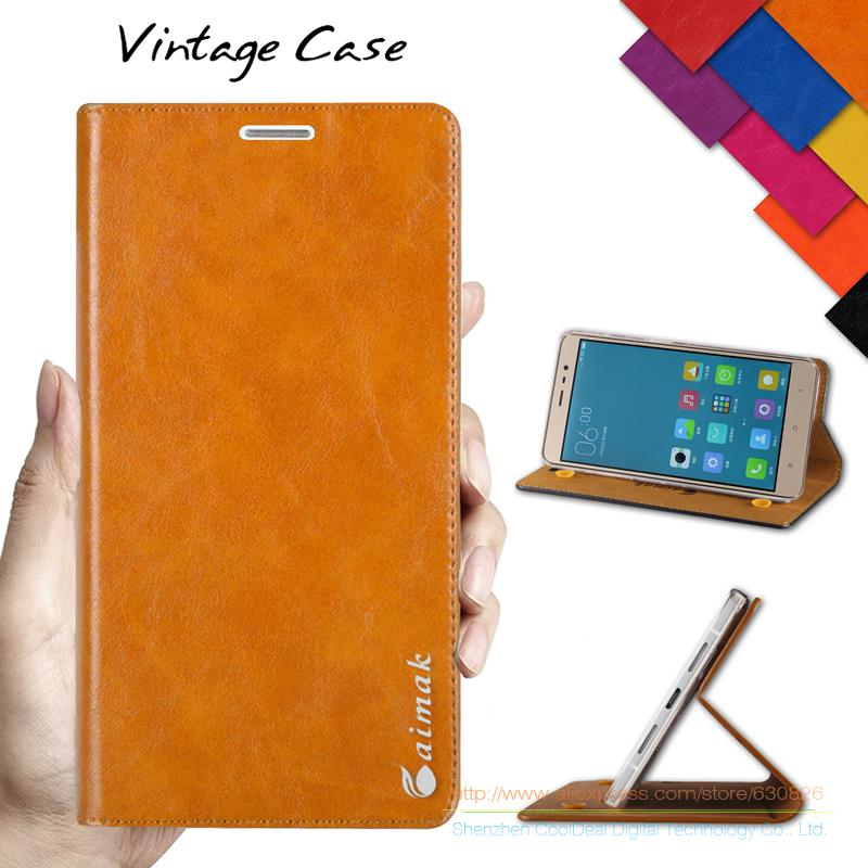 Vintage PU Leather Stand Flip Cover Case for Xiaomi Redmi Note2 Note 2 / Note3 Note 3 5.5inch Luxury Mobile Phone Cases(China (Mainland))