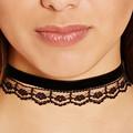 2016 Fashion Punk Black Cloth Choker Necklace Velvet Choker Around His Neck Collar Necklace For Women
