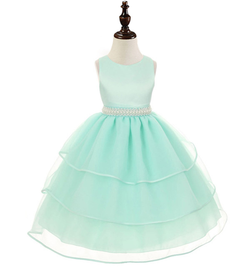 Girls Fairy Tale Princess Wear Costumes Dress Lace Kids Wedding Ceremonies Dress Children Girls Clothes Birthday Gift For Child(China (Mainland))