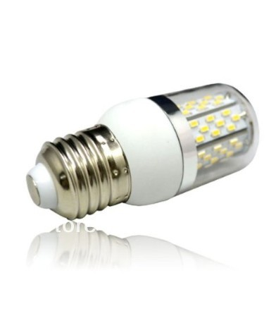 E27 Base 3w 78 3014 SMD LED Corn Light Bulb Lamp Transparent Cover 85-265V AC - Green Home store