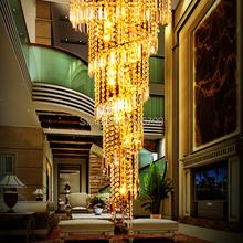 K9 Crystal LED Pendant Lamp Modern Luxury Penthouse Floor Living Room Pendant Light Hot Selling(China (Mainland))