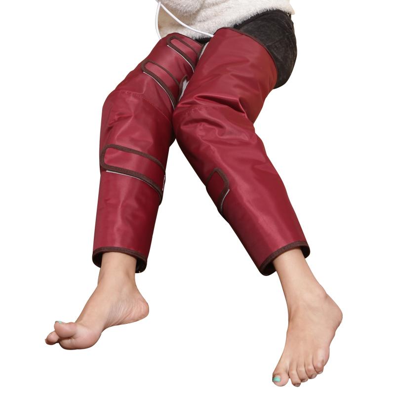 Leg massage device electric massage belt stovepipe device Massage for legs slimming sauna pants(China (Mainland))