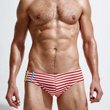 man's swimming briefs swimwear shorts trunk boxers Low waist Summer Men's Swim Brief Patchwork