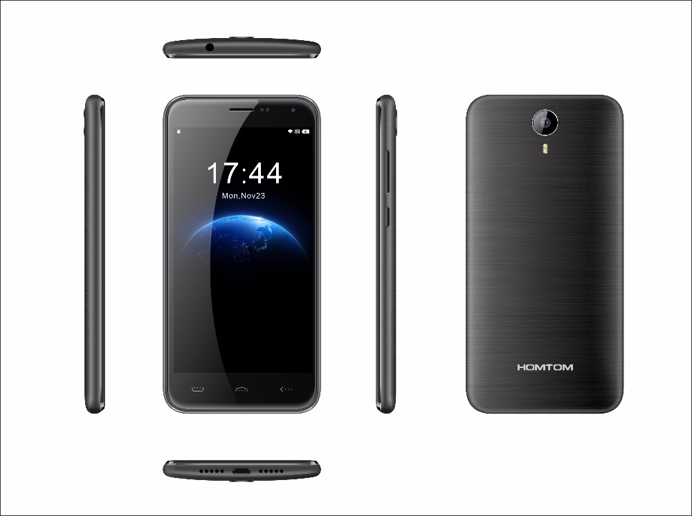 Original Homtom HT3 Quad Core Smartphone MTK6580 5 0 Android 5 1 3G WCDMA 3000mAh 1GB