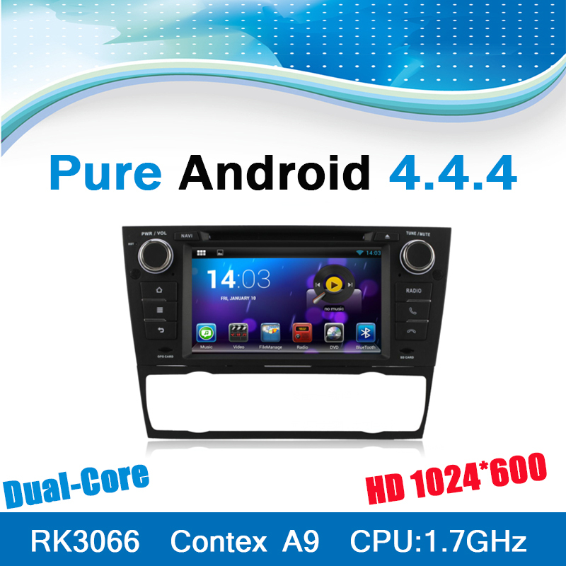 Pure Android 4.4.4 System Car DVD GPS Radio for BMW 3 Series E90 E91 E92 E93 with Automatic Air Conditioner(China (Mainland))