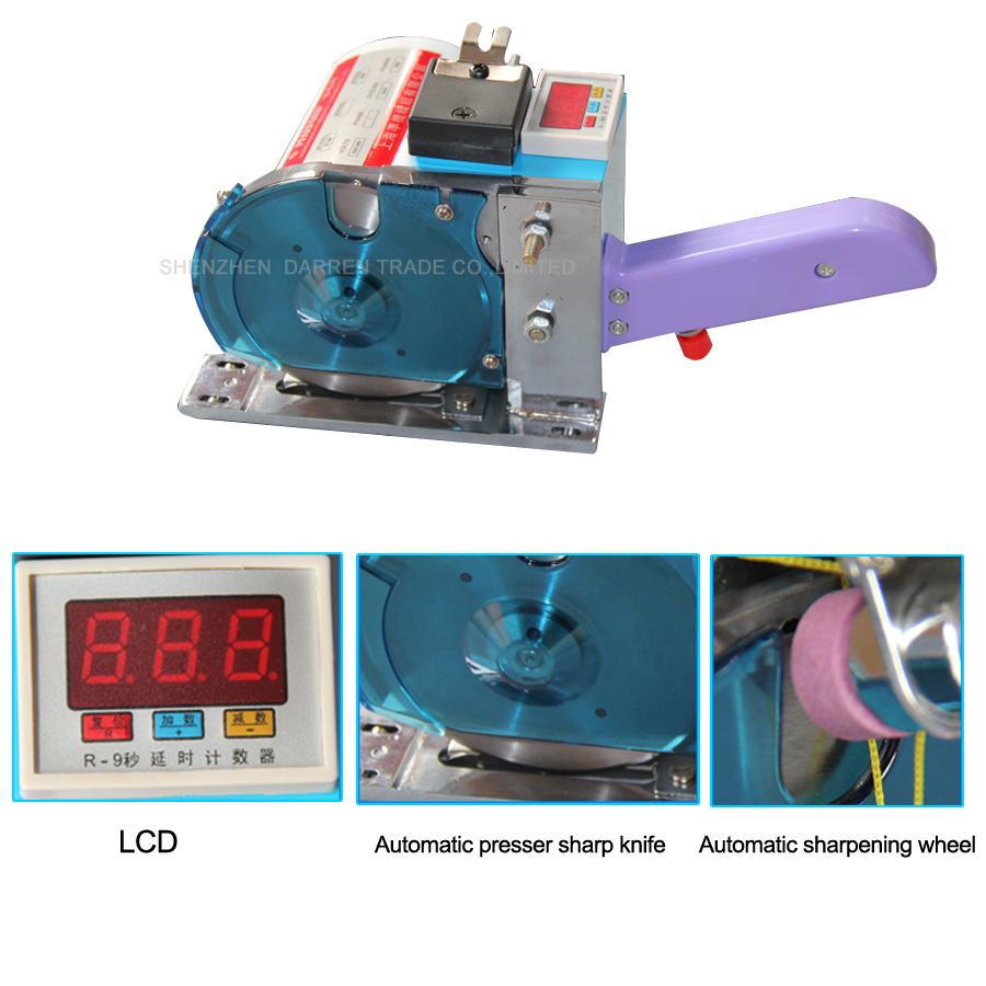 Buy 4pcs/lot Rail Round Knife  Fabric/cloth cutting machine broken cloth , Blade Electric Cloth Cutter  Free shipping by DHL cheap