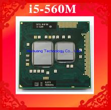 Lifetime warranty Dual Core i5 560M 2.66GHz 560 Notebook processors Laptop CPU PGA 988 Official version  Computer Original