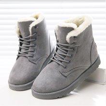 Frauen Stiefel Warme Pelz Stiefeletten Für Frauen Winter Stiefel Frauen Schuhe Mode Schnee Stiefel Weibliche Winter Schuhe Frauen Wohnungen booties(China)
