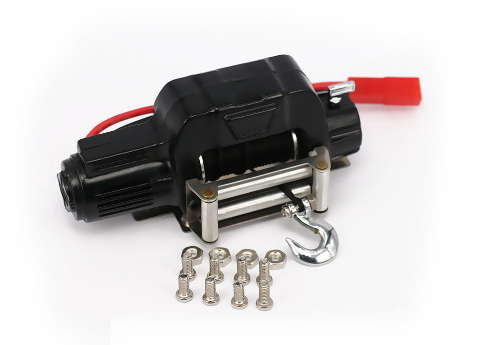 Automatic Simulated Crawler Winch Control System For 1/10 RC Car Crawler Truck Short Course Axial SCX10 AX10 Tamiya CC01 HSP
