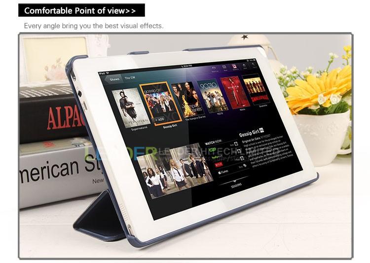 Оригинальный chuwi v89 tablet pc 9 дюймовый кожаный чехол складной Фолио ультра тонкий планшетный стенд случае высокое качество для планшета chuwi v89