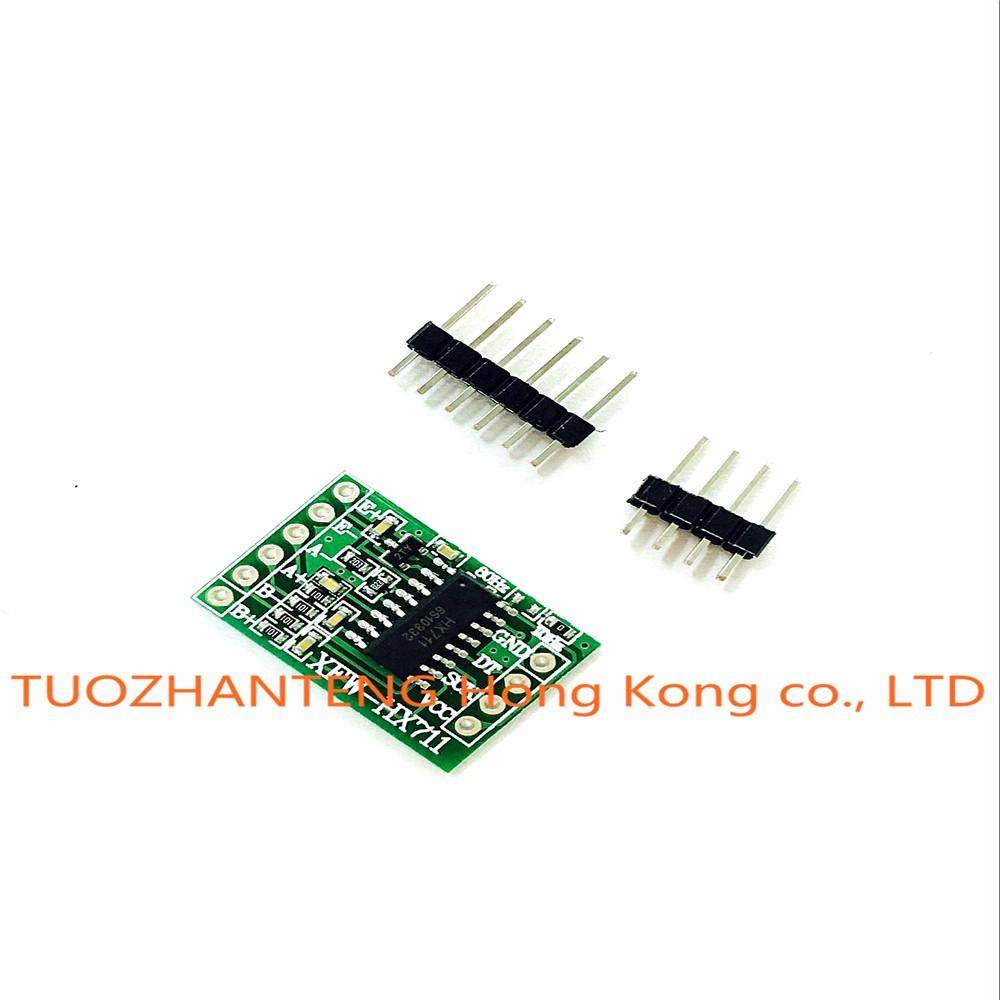 1pcs Goose electronic HX711 module weighing sensor 24 AD module pressure sensor AD module/SCM,DIY preferred for Arduino