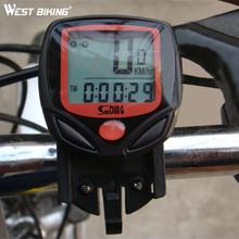 Buy WEST BIKING Cycling Computer 14 Functions Waterproof Odometer Speedometer LCD Display Bike Speedometer Bike Cycling Computer for $7.10 in AliExpress store