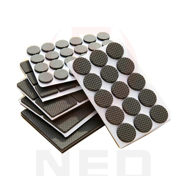 Hot Selling 1-24PCS Self Adhesive Furniture Leg Feet Non Slip Rug Felt Pads Anti Slip Mat Soft Close Fittings For Chair Table(China (Mainland))