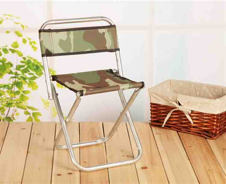 Fishing Chairs Metal backrest folding stool Outdoor bench 0.64g portable chair fishing chair 30*24*47cm(China (Mainland))
