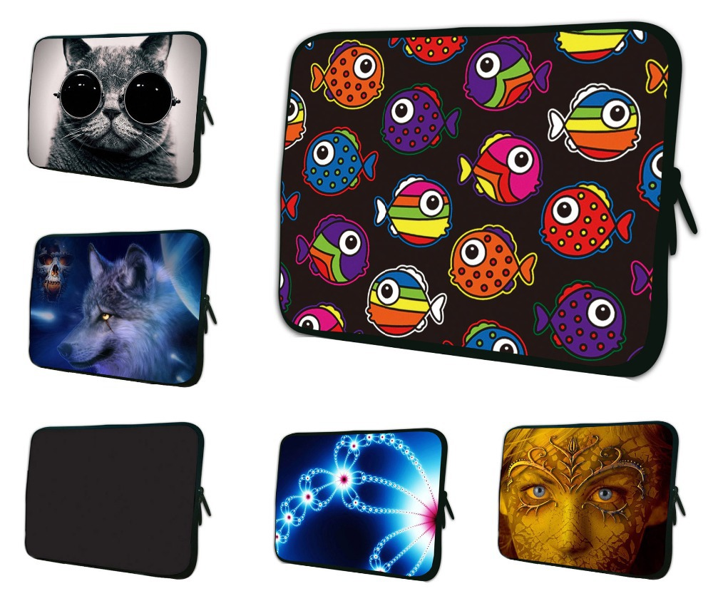 Neoprene Laptop Bag For iPad Mini Case 7 7.9 8 8.1 Android Tablet Case Zipper Sleeve Pouch Bag For Samsung Tablet Google Nexus 7(China (Mainland))