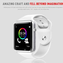 Bluetooth-смарт часы A1 reloj inteligente montre разъем для IOS Apple , iPhone андроид Samsung передач S2 xiaomi huawei PK Lemfo