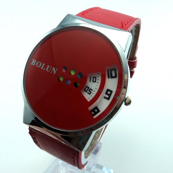 Holiday sale 5 colors Wholesale New Sports leather watch men women led digital dress watch KL0141(China (Mainland))