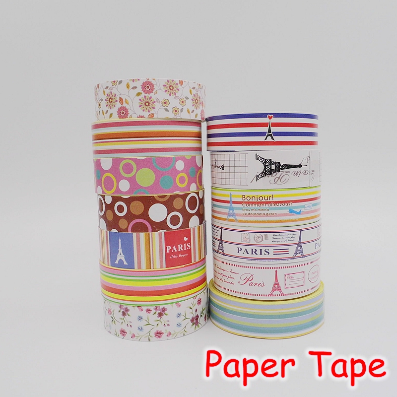 [FORREST SHOP] Kawaii Stationery DIY Adhesive Paper Tape / Cute Scrapbooking Stickers / Washi Masking Tape UP-8796<br><br>Aliexpress