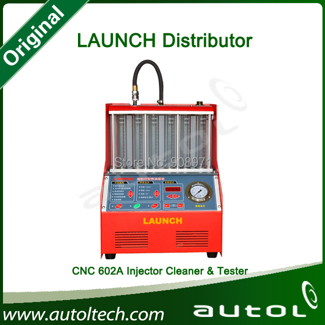 Auto Ultrasonic Injector Cleaner and Tester Launch CNC602A Machine 110V in Stock(China (Mainland))