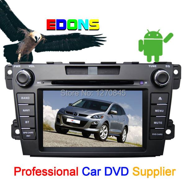 Pure Android 4.2 2 Din HD Capacitive Screen Car DVD player for Mazda cx-7 cx 7 with WIFI 3G GPS USB Bluetooth car radio stereo(China (Mainland))