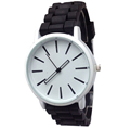 Fashion Unisex Classic Clock Silicone quartz Women Men s Watches Jelly women Rhinestone dress watches