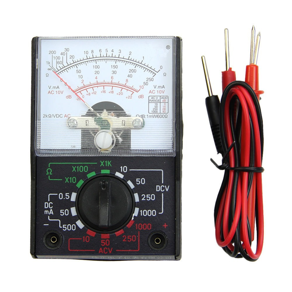 MINI Electric AC/DC OHM Voltmeter Ammeter Multimeter Multi Tester MF-110A New-Y103<br><br>Aliexpress