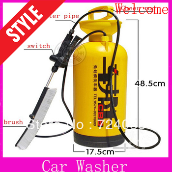 HOT Car Wash portable electric high pressure the washing car washing machine device car care products set with 2.5m hose