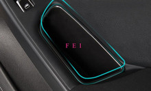 Buy Left Hand Drive! Black ABS Front Door Handle Armrest Interior Storage Box Decoration Cover Container Audi 2008-2015 A4 B8 for $12.92 in AliExpress store