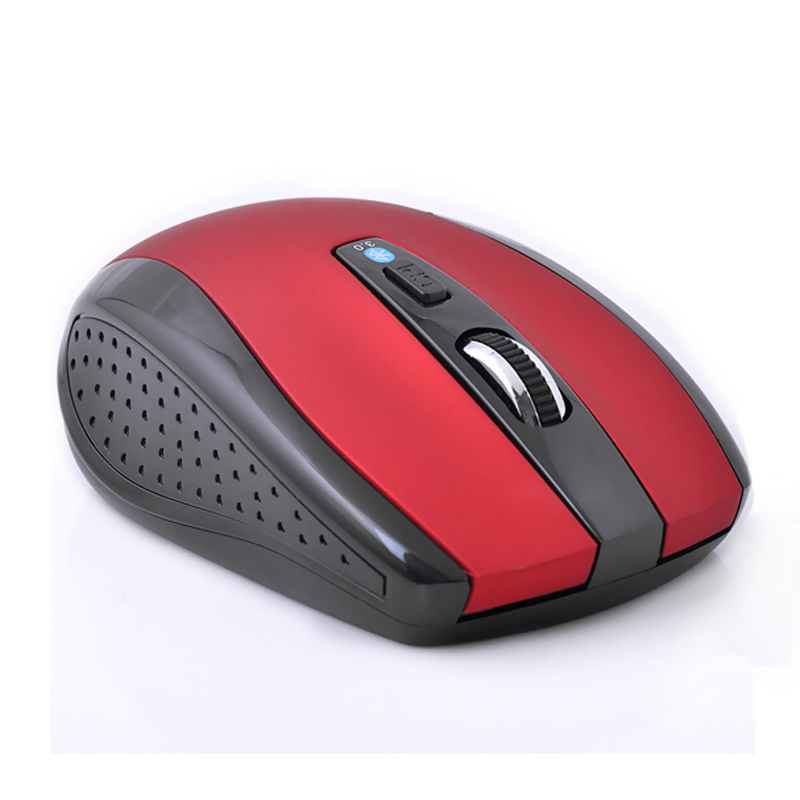 Red Ergonomic Non-slip Wireless Optical Bluetooth Mouse 1600 DPI Gaming Bluetooth 3.0 Mice For Laptop Notebook PC Computer X(China (Mainland))