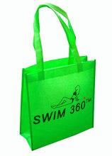 Custom Logo Non Woven Shopping Bags Eco-friendly Reusable Handbag Advertising Gift Bag Candy Color Grocery Bags(China (Mainland))