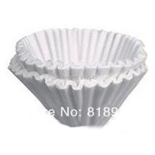 50 X White Filter Paper for Coffee Machine Brewer Espresso Maker Dripper 25CM 048-2248(China (Mainland))