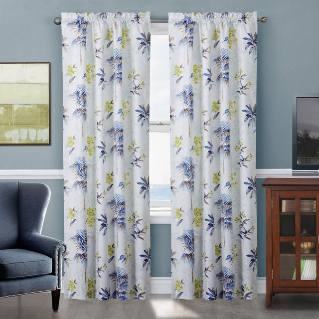 Twopages un panneau moderne rideaux de haute qualit - Style de rideaux pour salon ...
