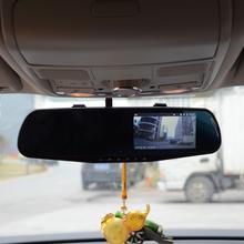 "Dual Lens 4.3"" LCD Car DVR Rearview Mirror Camera Full HD 1080P Rearview 720P Camera Night Vision G-Sensor Tachograph Q103B(China (Mainland))"