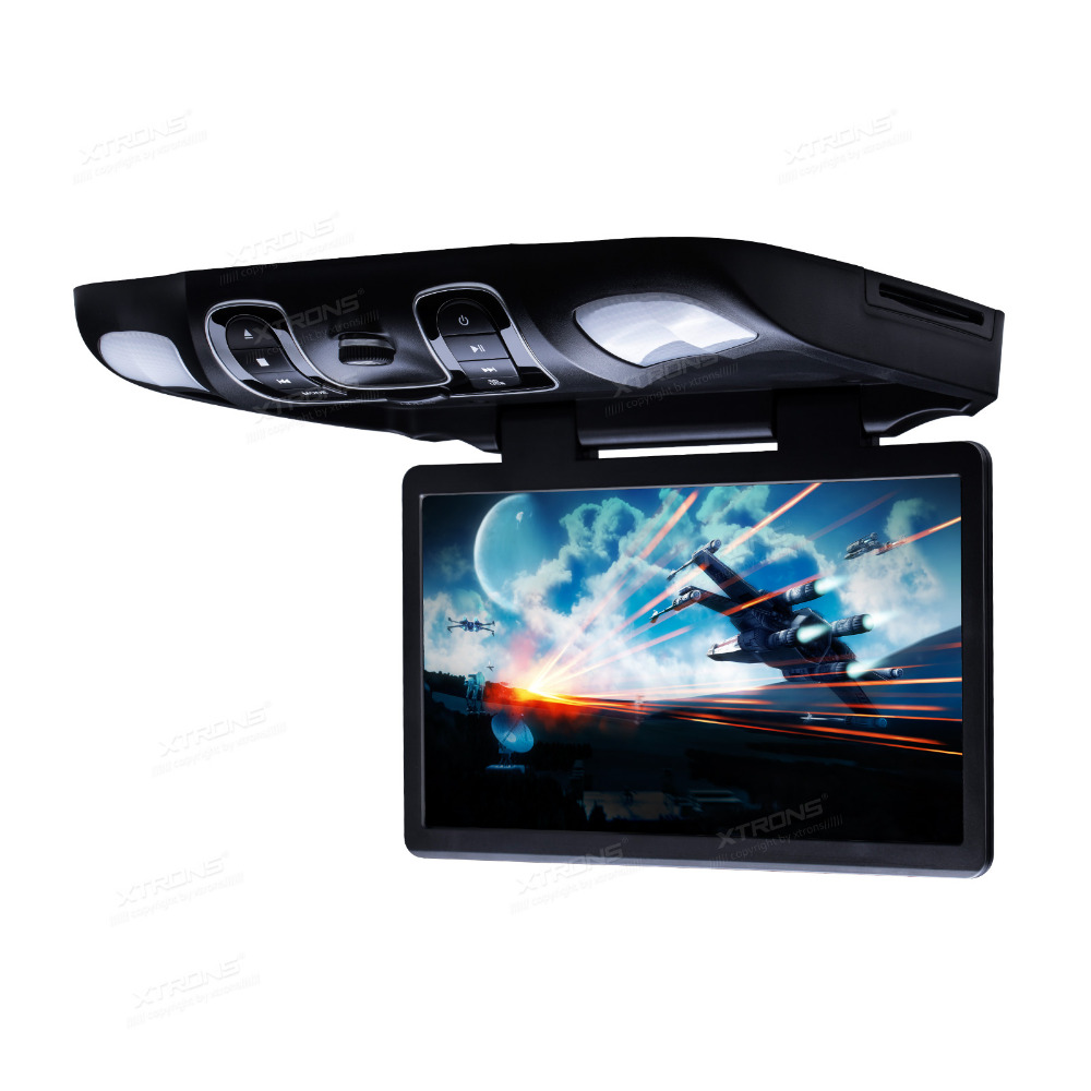 """XTRONS 15.6"""" Black Flip Down Car DVD Roof Car DVD Roof Monitor Car DVD with Easy Installation with the Mounting Bracket(China (Mainland))"""