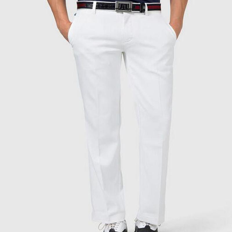 New jl golf pants top quality quick dry men golf trousers outdoor plaid golf pants men fashion golf clothing