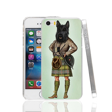 22909 Scottie Dog Kilt scottish terrier Animal cell phone Case Cover for iPhone 4 4S 5 5S 5C SE 6 6S Plus 6SPlus