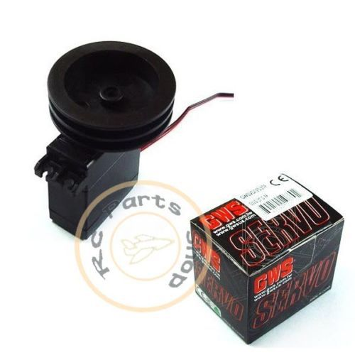 GWS S125 1T 2BB Sail Winch Servo wider rotation range/ rotates a full turn 360(China (Mainland))