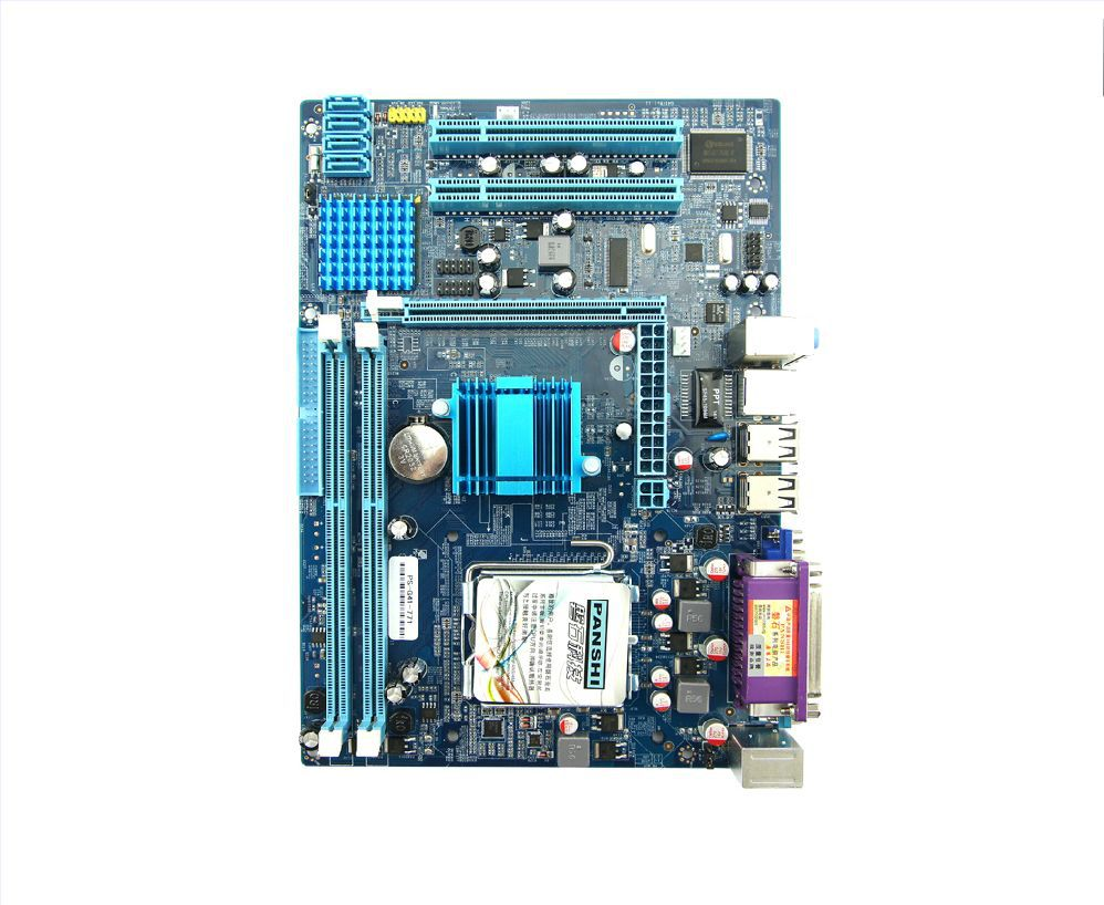 Panshi stone g41 motherboard 771 needle 51 , 53 , 54 series quad-core cpu dual-core<br><br>Aliexpress