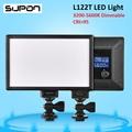 SUPON L122T LED 3300K 5600K Ultra thin LCD Bi Color Dimmable Studio Video Light Lamp Panel