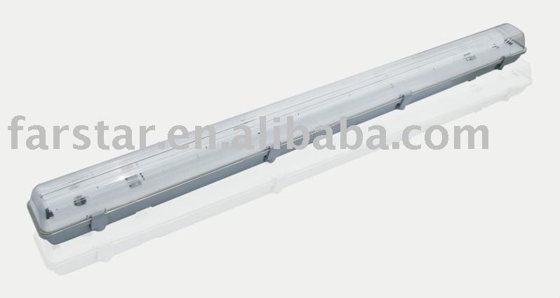 one tube 4ft t8 waterproof fluorescent ceiling light