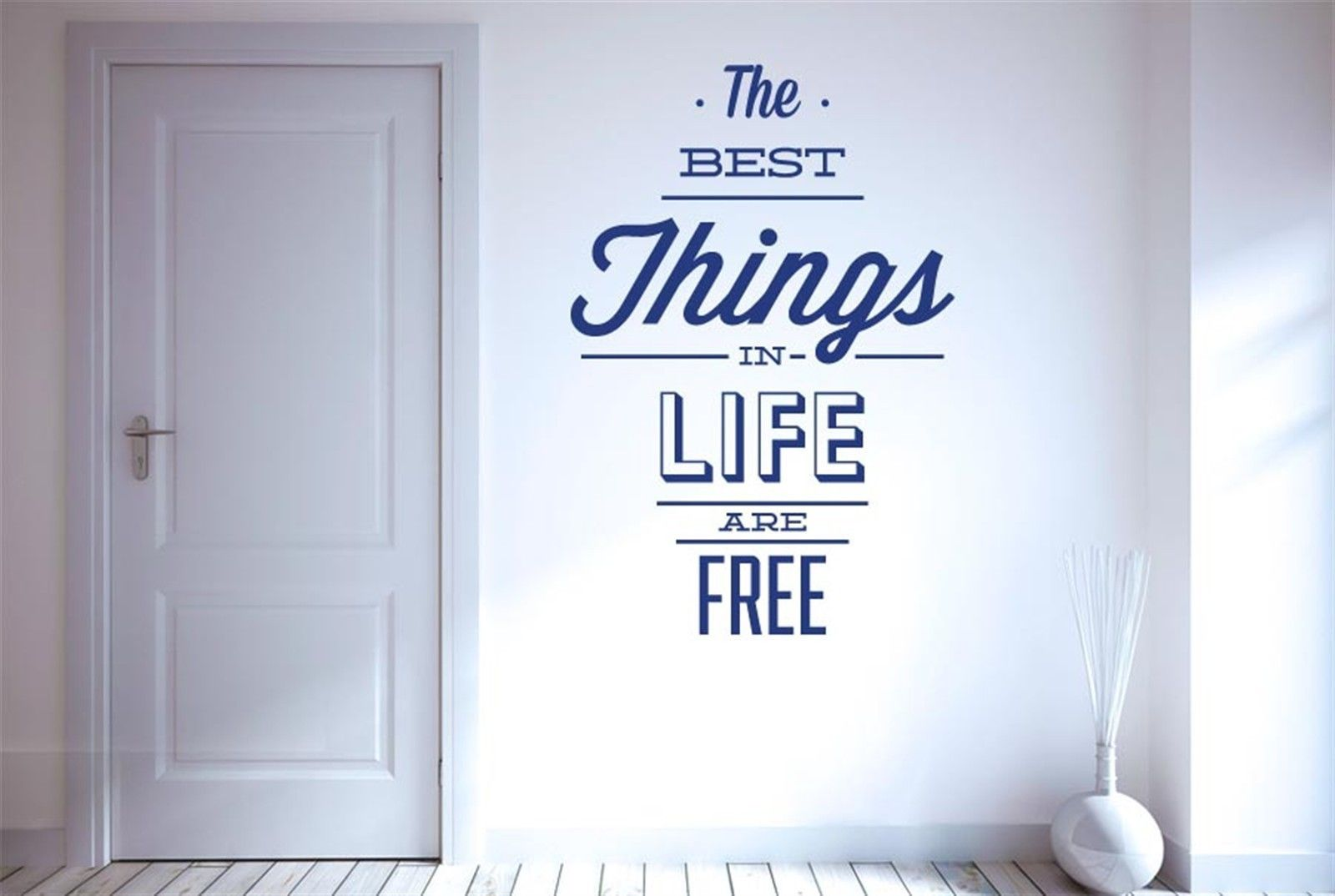 high quality life decals buy cheap life decals lots from high the best things in life are free wall stickers decals art life quotes free shipping