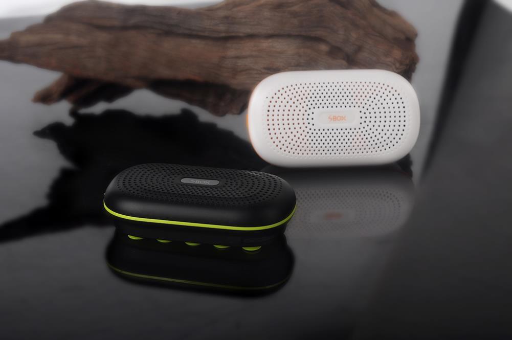 Mini Suckers Handsfree Bluetooth 3.0 Speaker 3000MAH Power Bank For Phone 2Color<br><br>Aliexpress