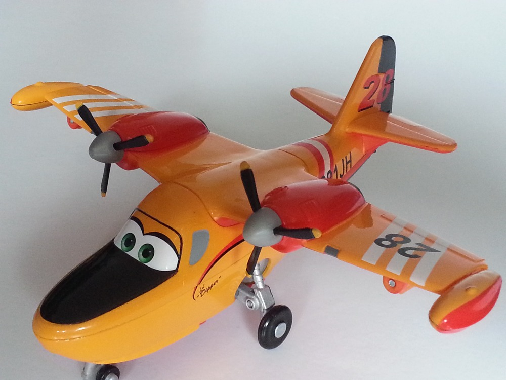 Pixar Planes 2 Fire &amp; Rescue No.28 Dipper Metal Diecast Toy Plane 1:55 Loose New In Stock &amp; Free Shipping<br><br>Aliexpress